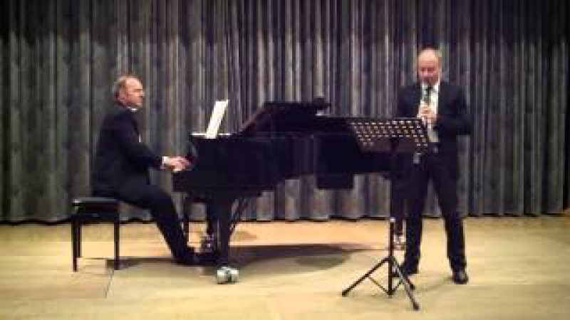 Blues from An American in Paris Duo JanDi Dimitri Schenker Clarinet Jan Weigelt Piano