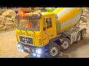 10-kbscriber SPECIAL! Big RC Truck Action! MAN! MB Arocs! Liebherr! v