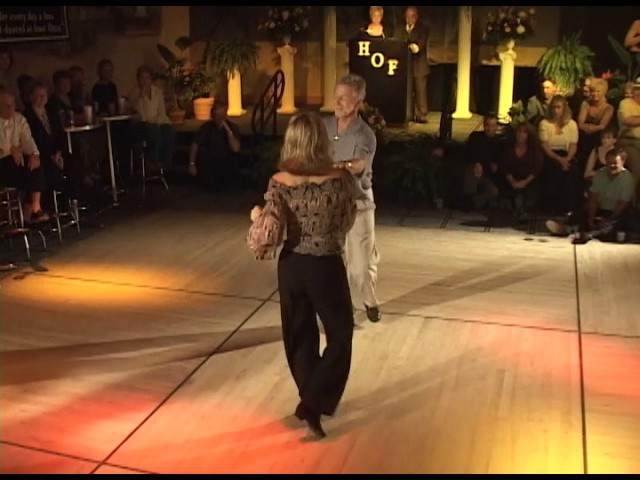 2002 - Beach Shaggers HoF - Charlie Womble and Jackie McGee Exhibition Dance