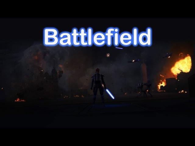 Battlefield Maul and Obi Wan