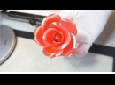설탕공예-장미 만들기/How to make a sugar rose : Team_Seika Sugar Flower/飴細工ーバラ