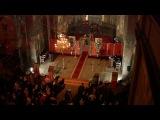 Пасхальное богослужение в Ново-Афонском монастыре.The Easter celebration from New Athos monastery.
