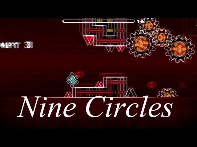 Geometry dash - Impulse( EAZY DEMON) and Nine Circles (EAZY)