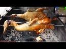 Вьетнамский Фаст Фуд Уличная еда во Вьетнаме ЖАРЕНАЯ УТКА НА МАНГАЛЕ РАЗДЕЛКА У