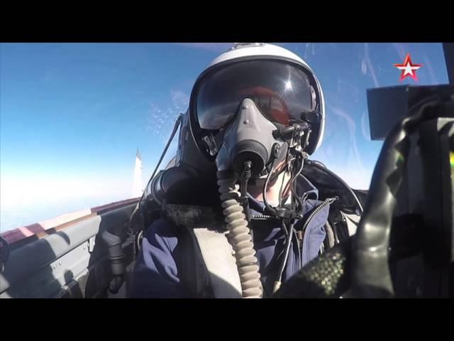 Истребители МиГ-29СМТ расстреляли колонну техники «противника» – уникальные ка ...