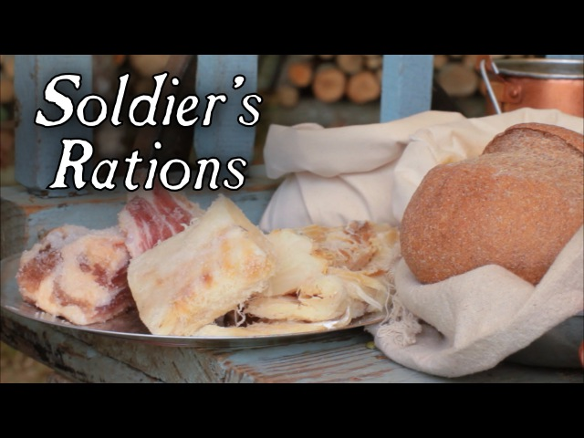 18th Century Soldiers Rations - Cooking Series at Jas Townsend and Son S1E1