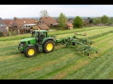 New KRONE SWADRO 1400 and John Deere 7530 - Ernst a