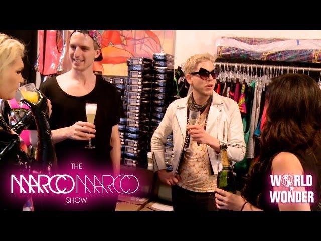 MarcoMarcoShow - Fittings with Sharon Needles, Milk, Mathu Andersen, Gigi Gorgeous, and Willam