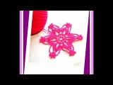 МК Очень нежный мотив крючком. MK Very delicate crochet motif.