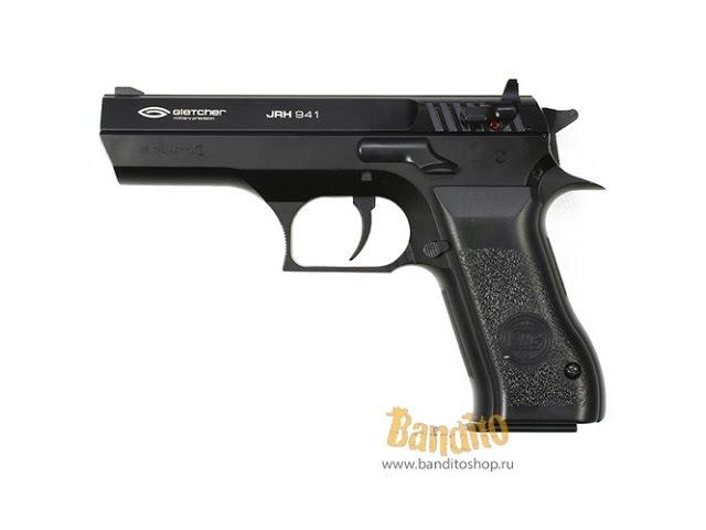 Обзор пневматического пистолета Gletcher JRH 941 Иерихон