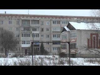 Выпадение замерзших крупинок дождя в Вязниках 10.11.16