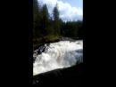 Водопад Куми-порог в Северной Карелии