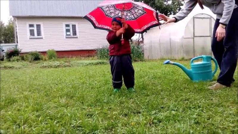 Pitter patter raindrops