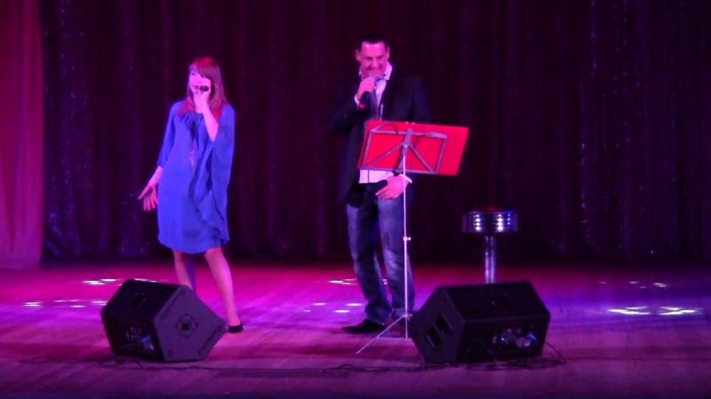 Davide Mattioli Elena Luneva - Grazie perche - live ad Oziory, Russia (1)
