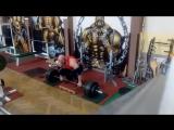 Даниель Грабовски - тяга 240 кг на 15 повторов