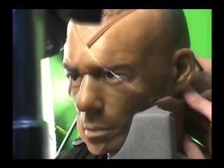 Как снимали сцену с лазером в фильме Обитель зла