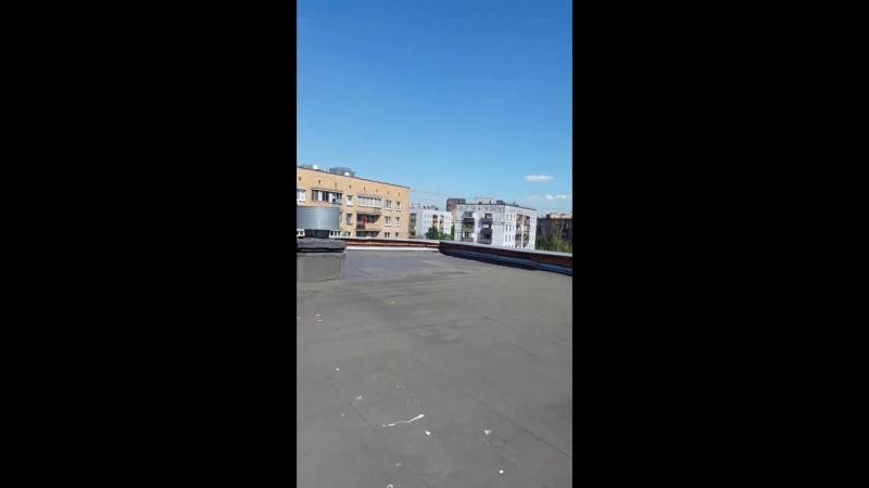 Крыша школы