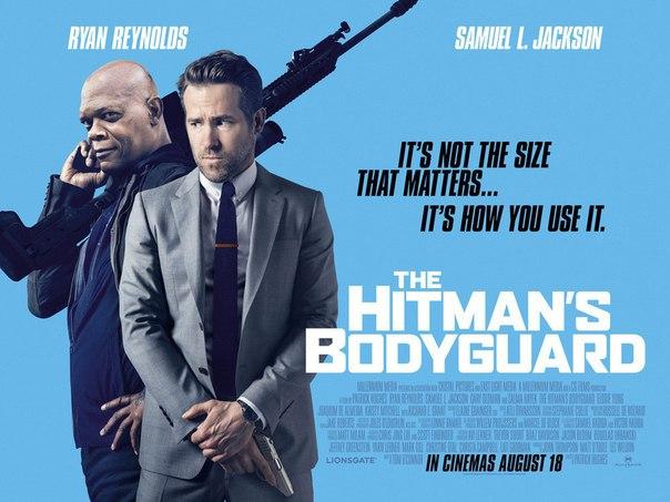 Появился новый постер комедийного боевика «Телохранитель киллера» с участием Райана Рейнольдса в образе агента по защите свидетелей и Сэмюэля Л. Джексона, играющего наемного убийцу.