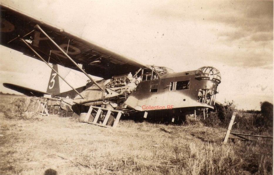 Брошенный бомбардировщик Потэ 540