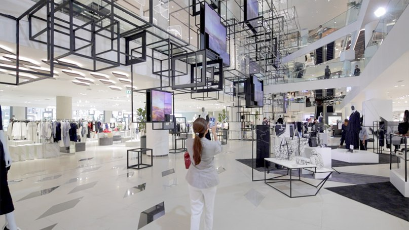 Siam Discovery shopping centre in Bangkok is Nendo