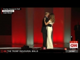 President Donald Trump and First Lady Melania Trump First Dance at the Inaugural Ball (1-20-2017)