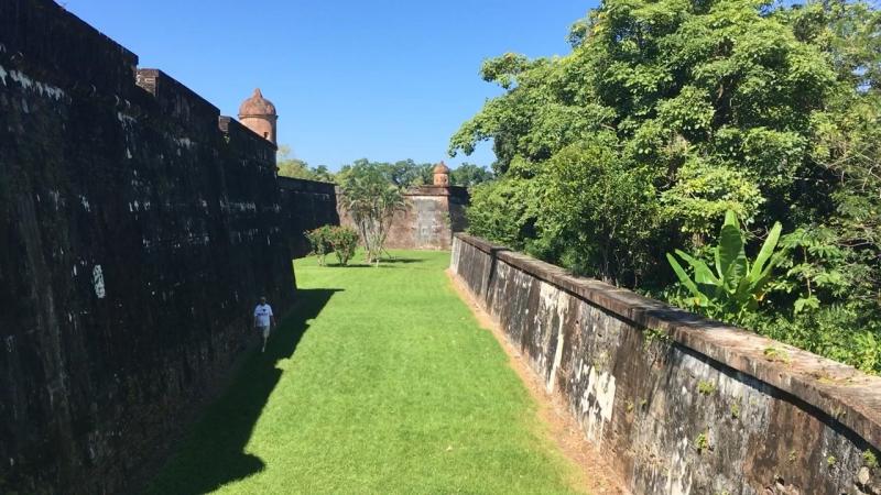 Омоа Гондурас Крепость Сан Фернандо