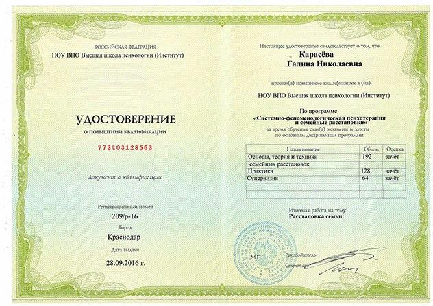 Педагог психолог повышение квалификации в Краснодаре