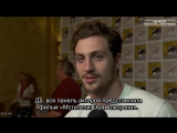 Aaron Taylor-Johnson (Quicksilver) - Marvel's 'Avengers_ Age of Ultron' Comic-Con 2014 Rus Sub