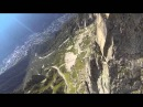 Sebastian Alvarez 15 Wingsuit charging from Le Brevent, Chamonix