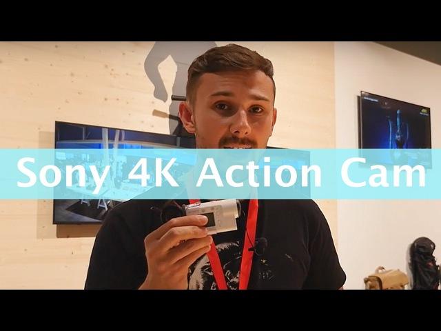 ЛУЧШАЯ 4K ЭКШН-КАМЕРА 2016! Sony FDR-X3000 4K Action Cam [IFA 2016]