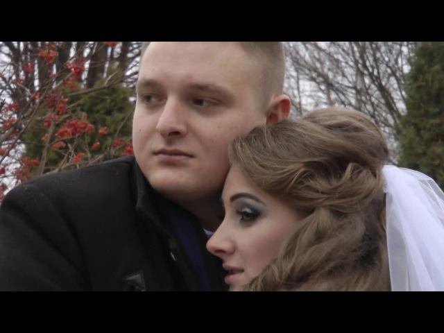 Богдан та Мирослава Кінцівка весільного фільму