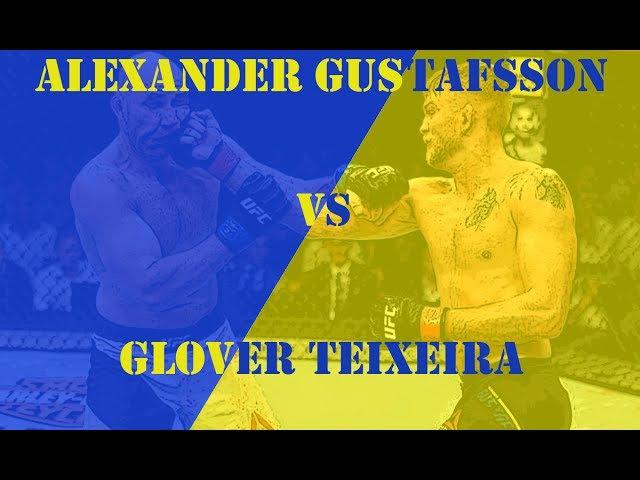 Alexander Gustafsson VS Glover Teixeira Густафссон VS Тейшейра FIGHT HIGHTLIGHTS HD