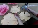 Мастер-класс по созданию розы из бумаги от Алины Высторобской. Студия Атрибуты Восторга