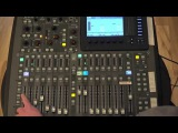 Behringer X32 Kick Drum + Oscillator, Post-Fader Gate