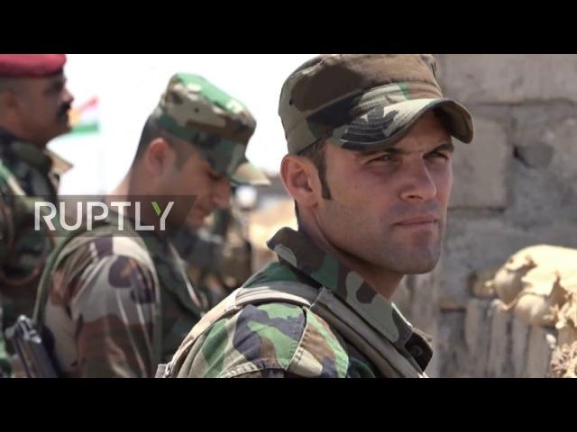 Ирак: Пешмерга защищает свои позиции в Найнава, так как сражается Мосул.
