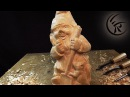 Woodcarving Gnome ►► Timelapse