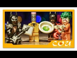 Обзор фигурок LEGO THE BATMAN MOVIE - Бэтмен рокер, Джокер, Стиратель и Бэтс любитель лобст...