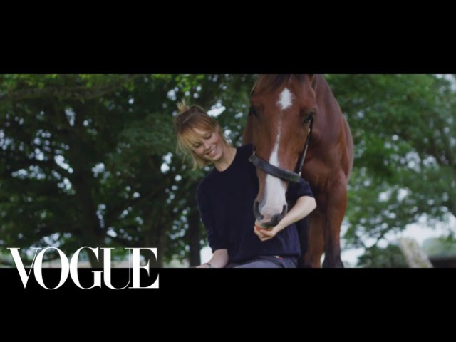 Instagirl Edie Campbell and Her Horse Dolly Invite You to the Countryside - Vogue