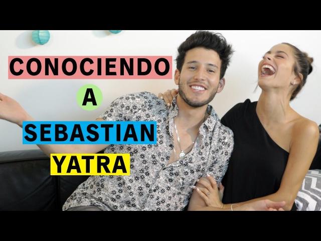 Conociendo a SEBASTIÁN YATRA l YaNoHayNadieQueNosPare | TINI
