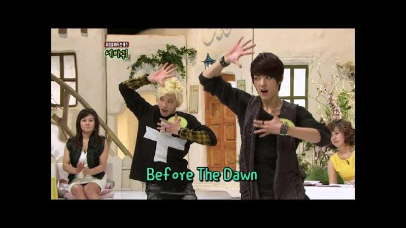 【TVPP】Sungyeol,Sungjong(INFINITE) - Scorpion Dance, 성열,성종(인피니트) - 신곡 'BTD'의 전갈 춤 @ Three Turns