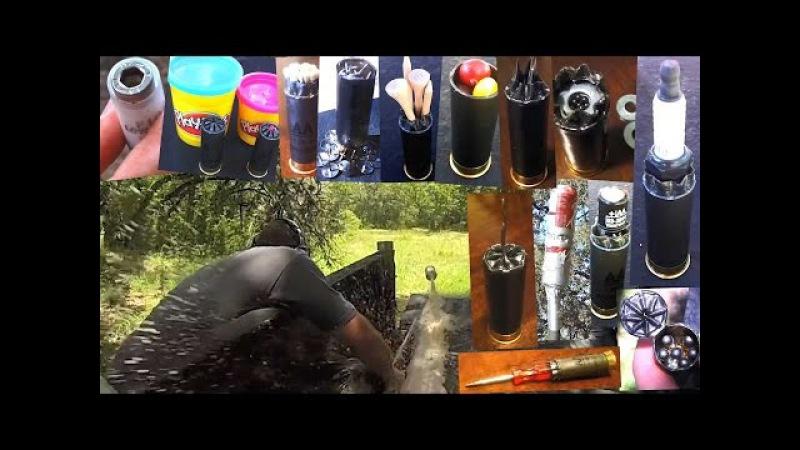 Мега пытка дробовика - годы стрельбы всякой хренью! | Разрушительное ранчо | Перевод Zёбры