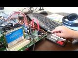 Harrison (4.y.o) turns on a PC