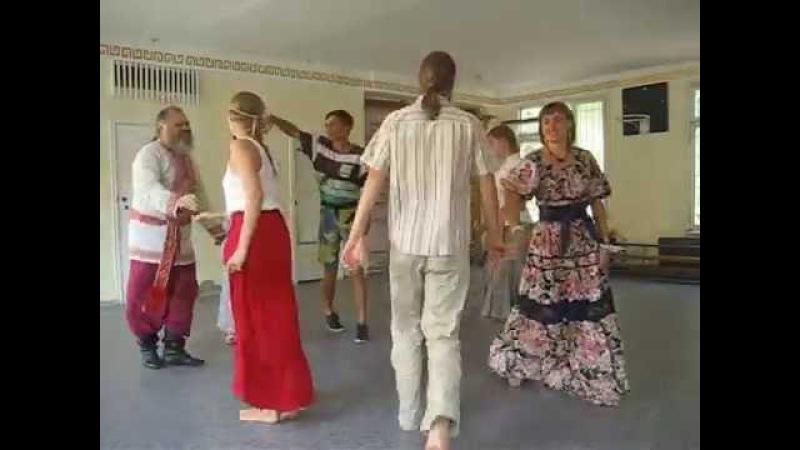 Танец Узенький проулочек (Сказочная Вечорка 18 сентября 2016)