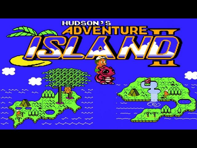 Adventure Island II, Hudson's (NES, Famicom) Денди игры - Остров приключений 2 [144]