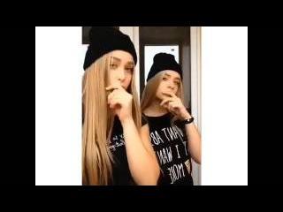 Даша Сушко и Лиза Пустовит (musical.ly)