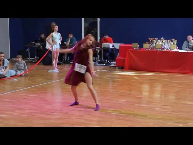 🔵🌟BlueStar Dance Studio🌟🔵 Герасимчук Ірина-Христина Диско-слоу, Друга ліга (Golden Lion)