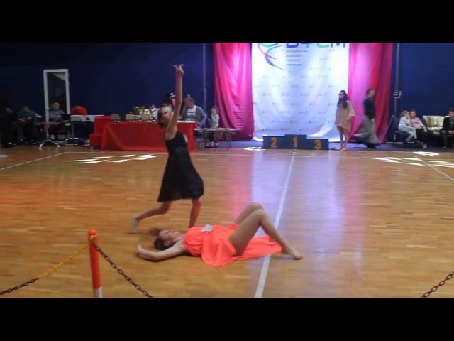 🔵🌟BlueStar Dance Studio🌟🔵 Петухова Вікторія-Марта Contemporary, Вища ліга (Golden Lion)