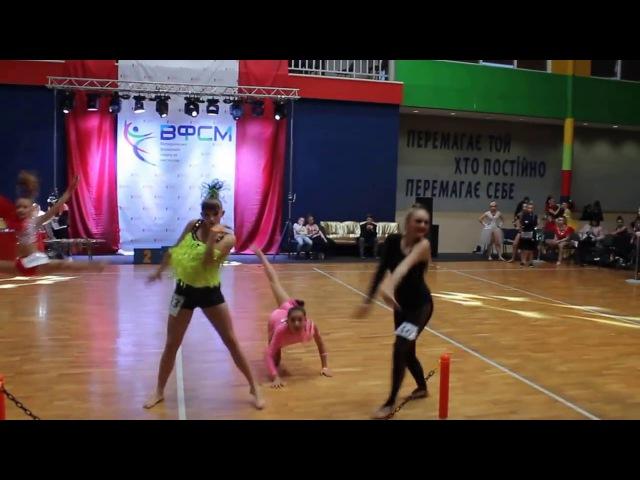 🔵🌟BlueStar Dance Studio🌟🔵 Петухова Вікторія-Марта Диско-слоу, Друга ліга (Golden Lion)