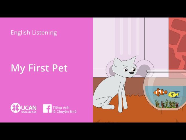 Learn English Listening Beginner Lesson 6 My First Pet
