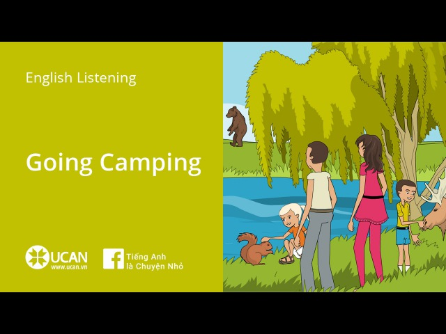 Learn English Via Listening | Beginner Lesson 4. Going Camping